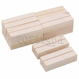 10Pcs Wooden Business Card Holders for Business Card and Pos