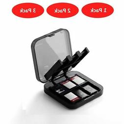 24-in-1 MicroSD Card Holder Game Card Storage Box Hard Case