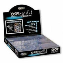 Ultra Pro 9-Pocket Trading Card Pages - Platinum Series  New