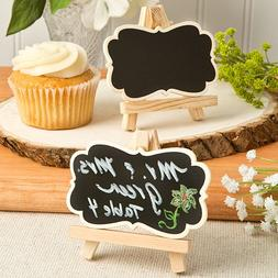 Chalk Board Easel Design Place Card Holders or Table Number