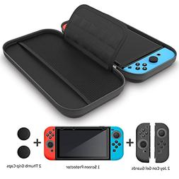 GH 4 in 1 Nintendo Switch Carrying Case , Travel Nintendo Sw