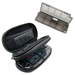 Khanka All-in-one Double Compartment Carry Travel Case Bag +