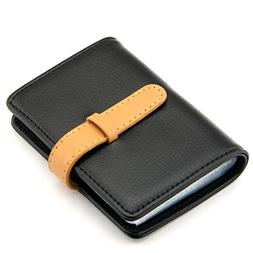 Partstock High quality PU Leather Credit Card Holder ID Case