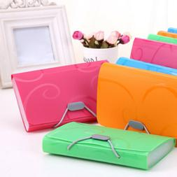 Document File Folder Bag Case Bills Receipts Pouch Card Hold