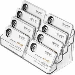 Acrylic Business Card Holder Clear Plastic Office Display St