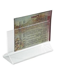 Winco Acrylic Card Holder, 5-1/2-Inch by 3-1/2-Inch