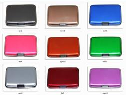 Aluminum RFID Blocking Credit Card Holder for Men & Women St