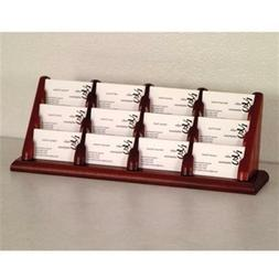 Wooden Mallet BCC4-12MH 12 Pocket Countertop Business Card H