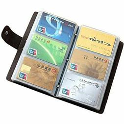 Boshiho Leather Credit Card Holder Business ID Case Book Sty