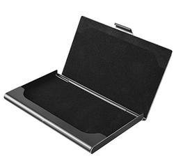 MaxGear Business Card Case Holder Name Card Holder Slim Meta