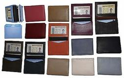 Business card case. Women's Men's Leather ID/credit card hol