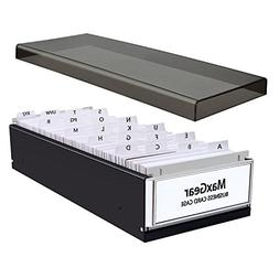 MaxGear Business Card Organizer Business Card File Name Card