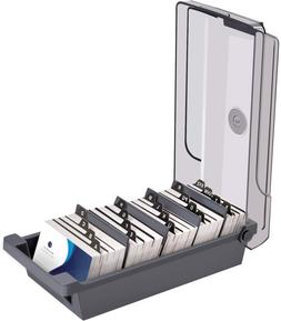 MaxGear Business Card Holder for Desk, Business Card Organiz