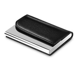 MaxGear Business Card Holder Leather Business Card Case Name