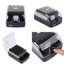 Eagle Business Card Holder, Push-Button,Storage up to 350 Pa