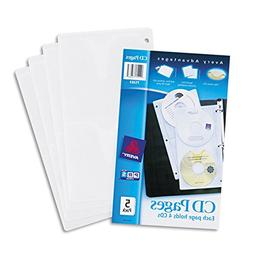 Business Card Sheet Protectors for 3 Ring Binder, 10 Pack, 8