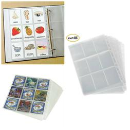 Card Holder Sleeves Trading Cards Album Pages Coin Holders P