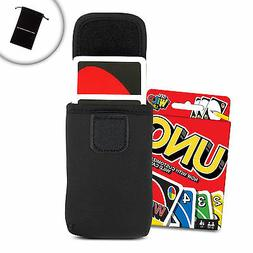 USA Gear Travel Carry Case for UNO Card Game with Belt Loop