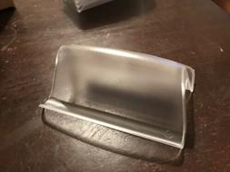 Clear Business Card Holders Display Stand 10 Pieces