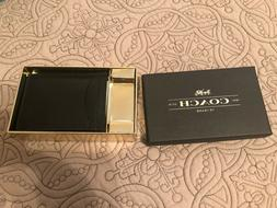 COACH CREDIT CARD HOLDER & MICHAEL KORS CARD CASE W/KEY FOB