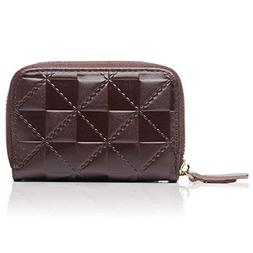 APHISON Credit Card Holder Security Travel Wallet Leather fo