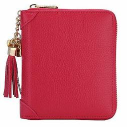 Credit Cards Holder Solts Women's Case Wallet ID Window Zipp