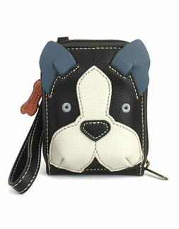 Chala  -  Cute-C Boston Terrier - NEW Credit Card Holder Wal