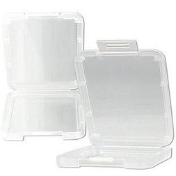 eTECH Collection 10 Pack of Clear Plastic CF/Compact Flash M