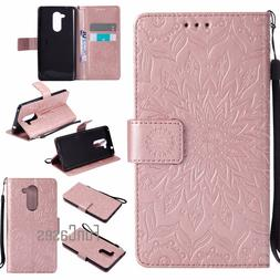 Embossed Flower Case sFor coque Huawei Honor 6X Case sFor fu