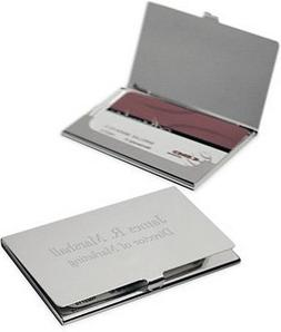 Business Card Holder Free Engraving