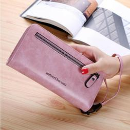 Fashion Lady Women's Leather Clutch Wallet Long Card Holder