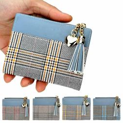 Fashion Short Tassel Women's Wallets Lady Mini Card Holder W