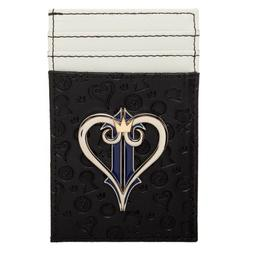 Front Pocket Slim Card Holder Wallet Kingdom Hearts Video Ga