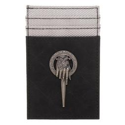 GAME OF THRONES HAND OF THE KING METAL LOGO FRONT POCKET CAR