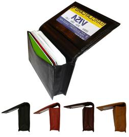 genuine leather 18 credit card id business