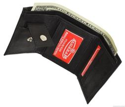 GENUINE LEATHER KIDS SMALL TRIFOLD/MONEY WALLET BY MARSHAL