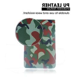 Crestgolf Golf Scorecard Holder Camouflage Golf Score Pocket