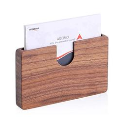 ca44fbfd6c5c MaxGear Handmade Business Card Holder Wo...