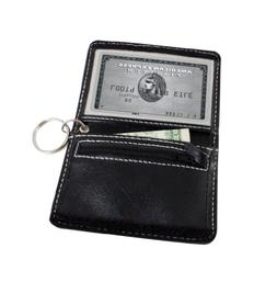 ID/ Card Holder with Keychain