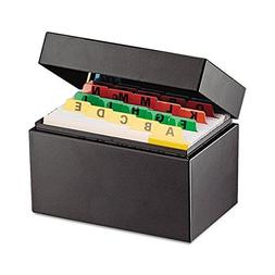 SteelMaster Index Card File Holds 400 3 X 5 Cards, 5 3/4 X 3