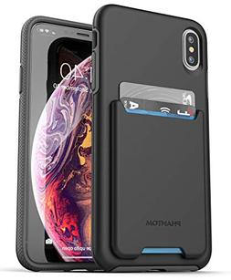 Encased iPhone Xs MAX Wallet Case  Ultra Durable Cover with