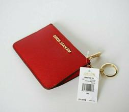 MICHAEL KORS JET SET TRAVEL COINPOUCH ID KEY RING CARD HOLDE