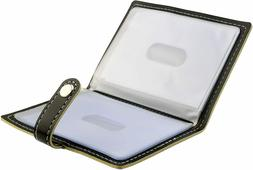 Karlling Soft Leather Case Wallet Bag Holder For 20 Credit C