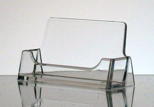 10 New Clear Plastic Acrylic Business Card Holder Display FR