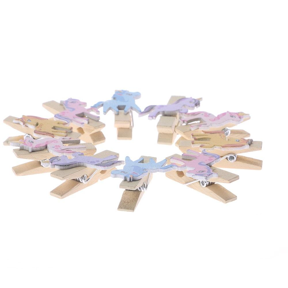 10PC Cute Pegs Photo <font><b>Clips</b></font> Note For Decoration