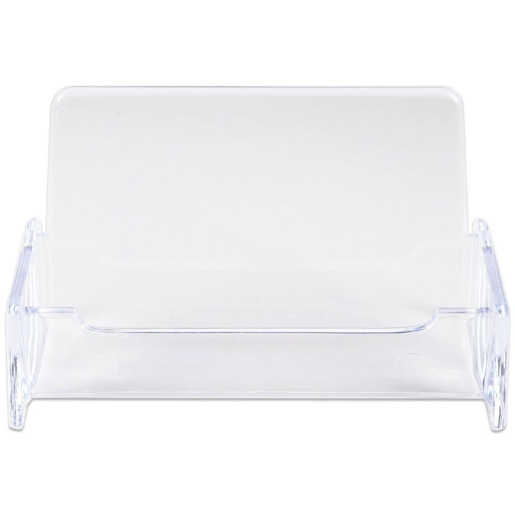 Desktop office Card Holders Stand plastic
