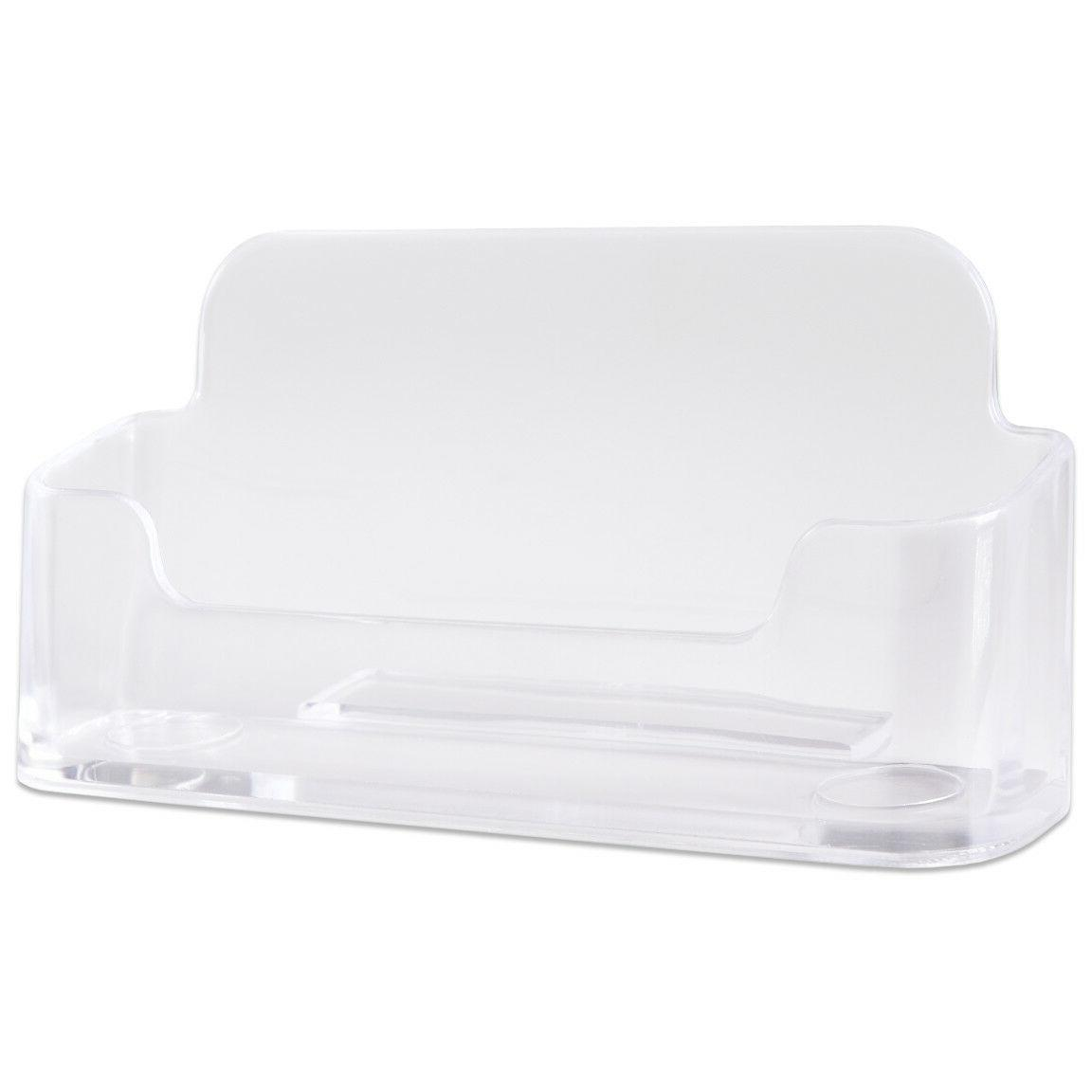 12pcs Clear Card Display Stand