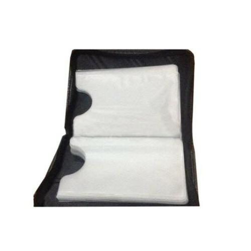 18 PU RFID Blocking Zipper Thin Pocket