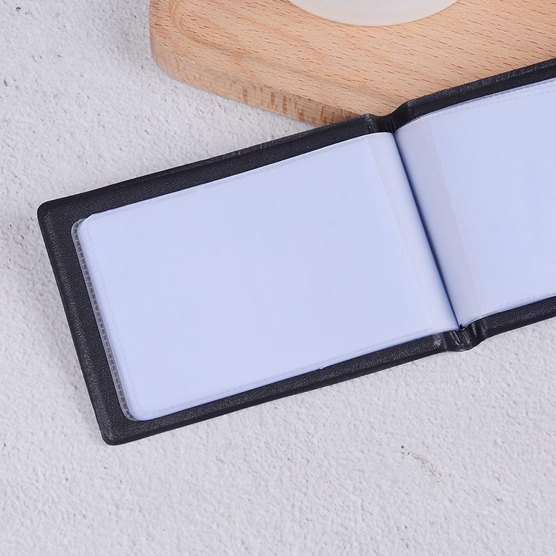 1pc pu leather 40 font b cards