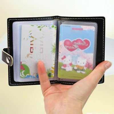 1x leather business id credit card holder
